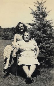 May and her mother, Minnie Wosnitzer