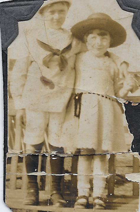 May Wosnitzer and Cousin Marcy Streicher - 1924