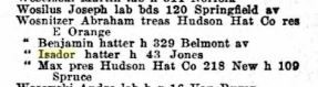 19012 Hudson Hat Employees