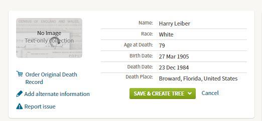 Harry Laber Death