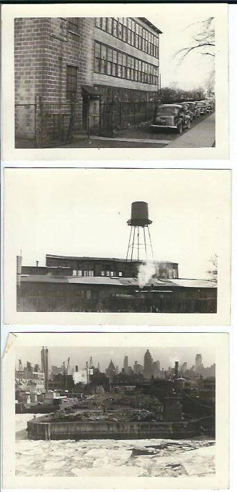 The Nutley Hat Factory before and after the big fire.