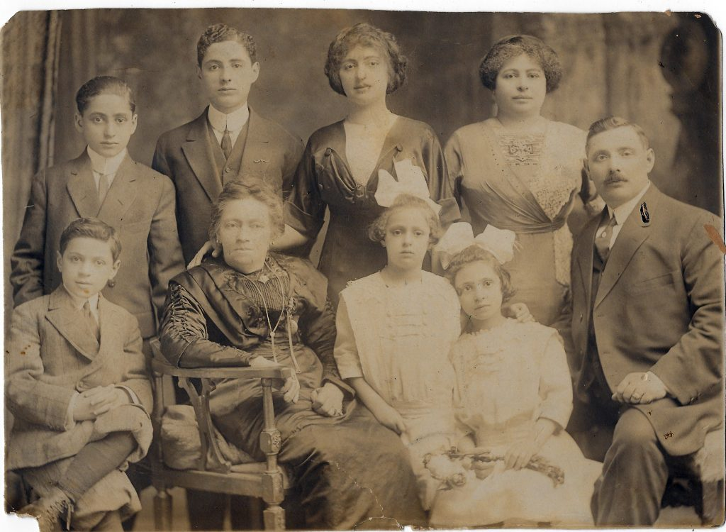 Ida and William Steuer and Family