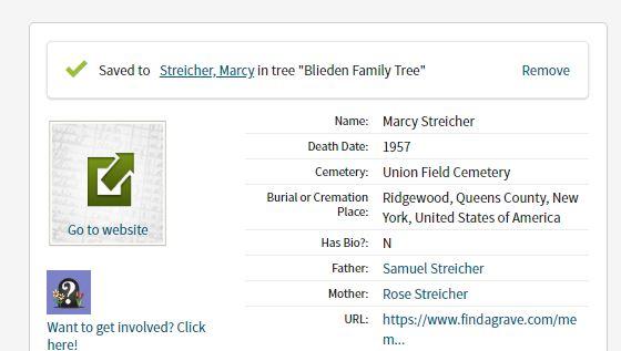 Marcy Streicher death Info