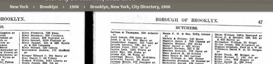 19086 Directory Listing for Max Laber