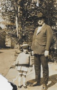 May and her Uncle Sam Streicher