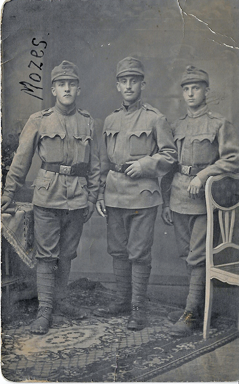 Moses Meeyer Wosnitzer in WWI Austrian Army