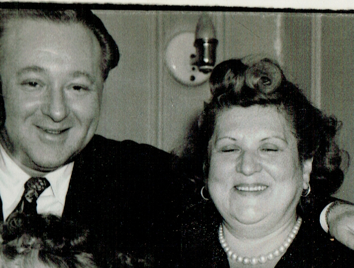 Wilton Streicher and his mother, Rose