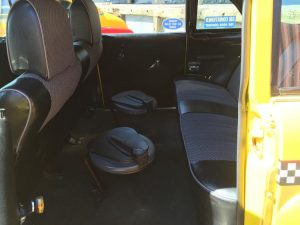 Old Taxi Cab Seats