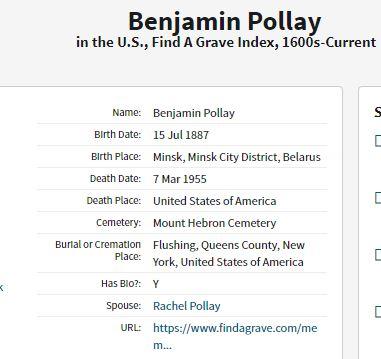 Ben Pollay Death Information