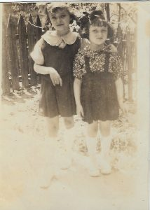Sisters Marilyn and Merlie Streicher