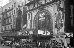 Eltinge Theater 1932
