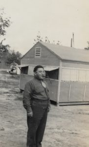 Harry Leiber in the Army 011943