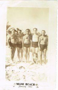 Harry Leiber in Miami 1940