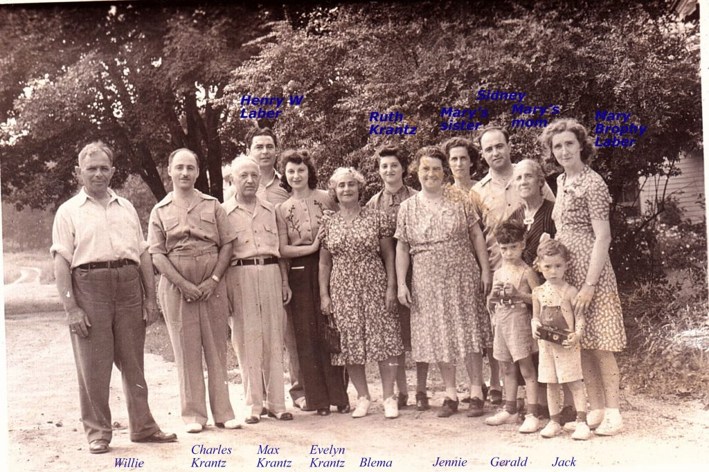 Willie Laber Family and Siblings