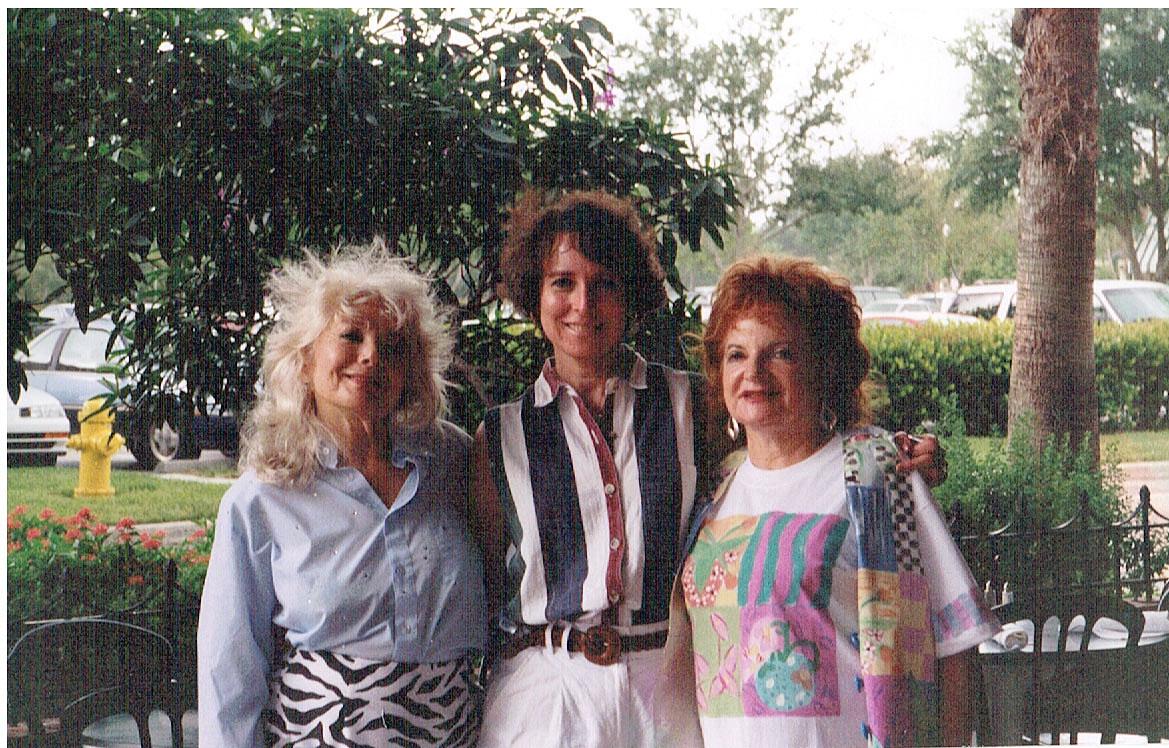 Marilyn, Tara, and Merlie 1997