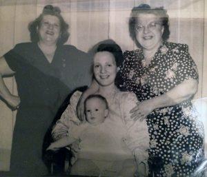Rose, May, Minnie and Tara