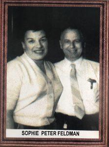 Sophie and Peter Feldman