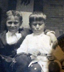 Peter and Rudy Feldman - circa 1916