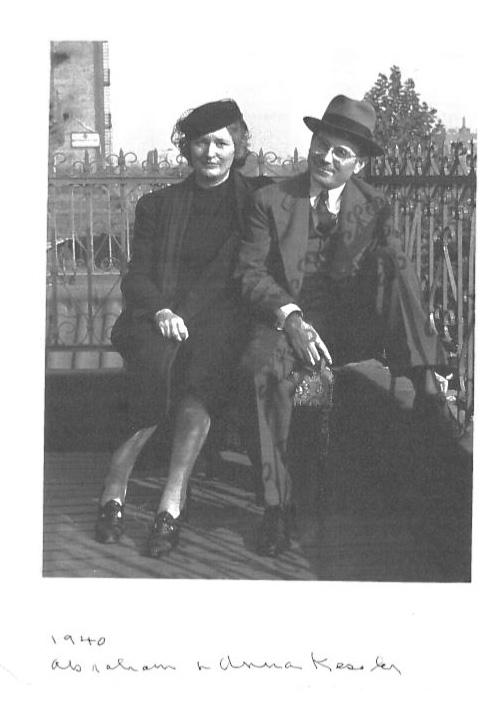Abe and Anna Kessler, 1940
