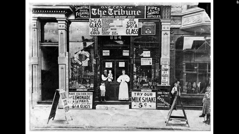 Chicago 1895 - Soda Shop
