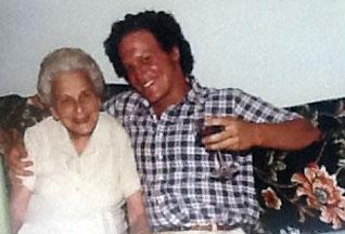 Ida and her grandson, Richard Eisler