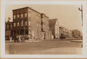 Howard Avenue and Herkimer about 1936