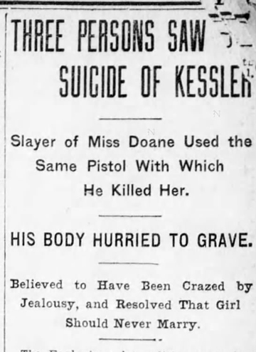 Brooklyn Eagle Article Headline  May 25, 1908