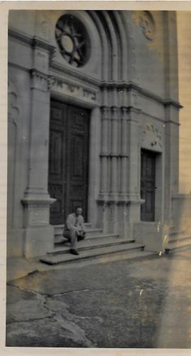 BernardBlieden-NZ-SynagogueatWaterlooQuadrangle-01161945